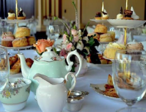 Join us for High Tea on Saturday November 28th